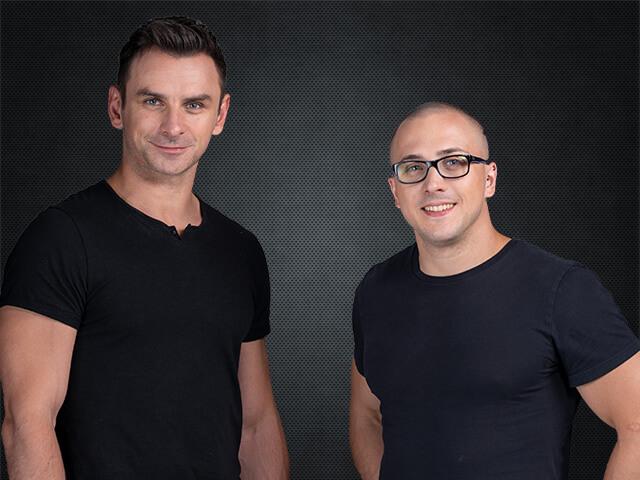 Tadeusz Sowiński i Damian Parol