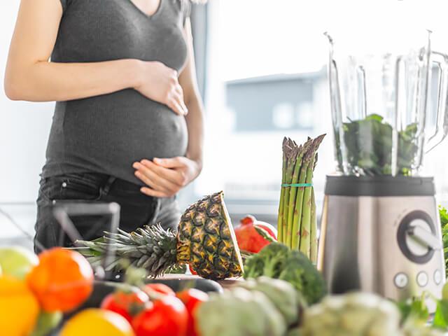 Przygotowanie do diety w ciąży